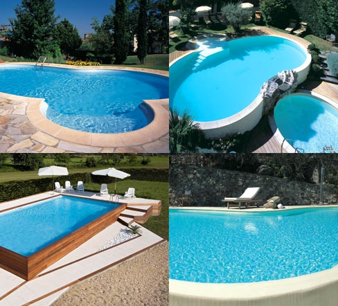 Piscine interrate bordo sfioro skimmer piscine in offerta for Piscine in offerta
